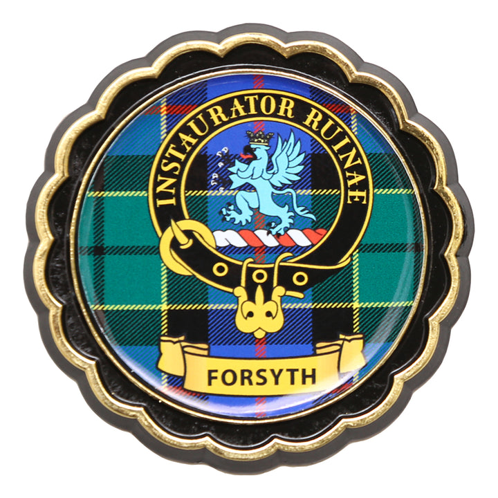 Clan Crest Fridge Magnet - Forsyth