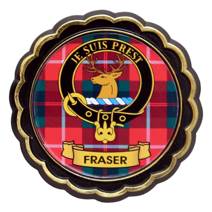 Clan Crest Fridge Magnet - Fraser