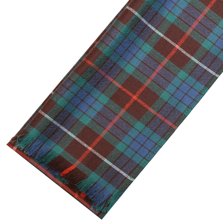 Fine Weight Tartan Scarf - Fraser Hunting Ancient