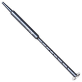 GANAAN MKII Engraved Grey Aluminum Practice Chanter
