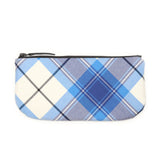 Tartan Makeup Bag - Navy Kerr