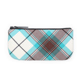 Tartan Makeup Bag - Brown Kerr