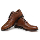 Ghillie Brogue Shoes - Brown Deluxe