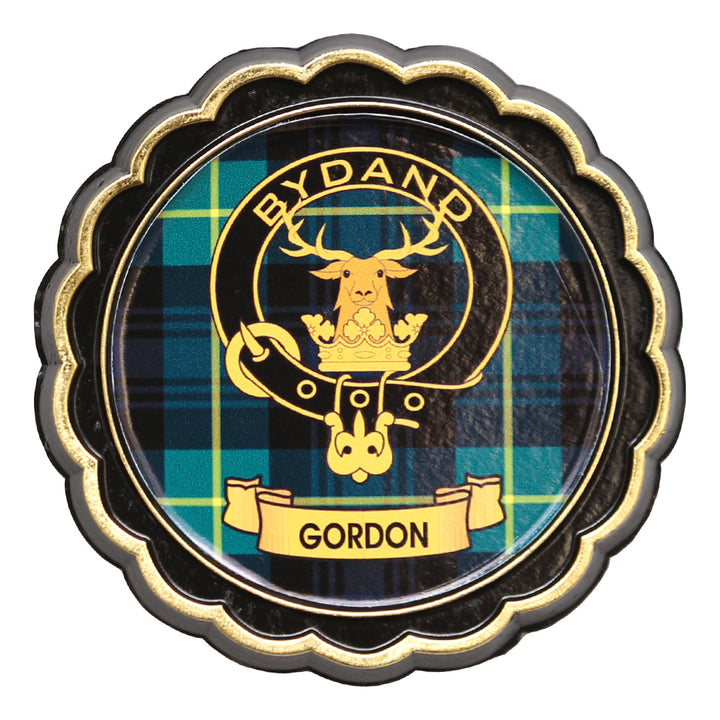 Clan Crest Fridge Magnet - Gordon