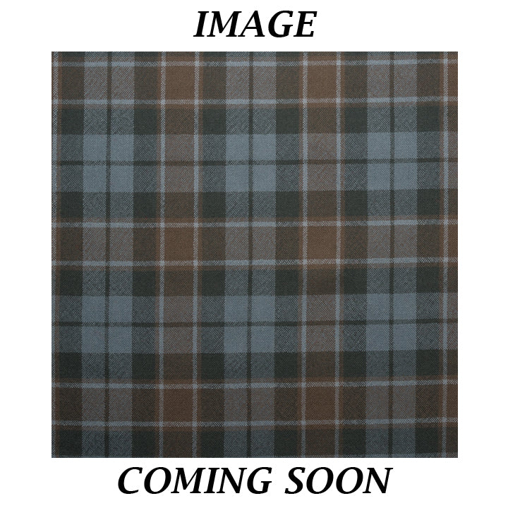 Fine Weight Tartan Scarf - Graham of Menteith Weathered