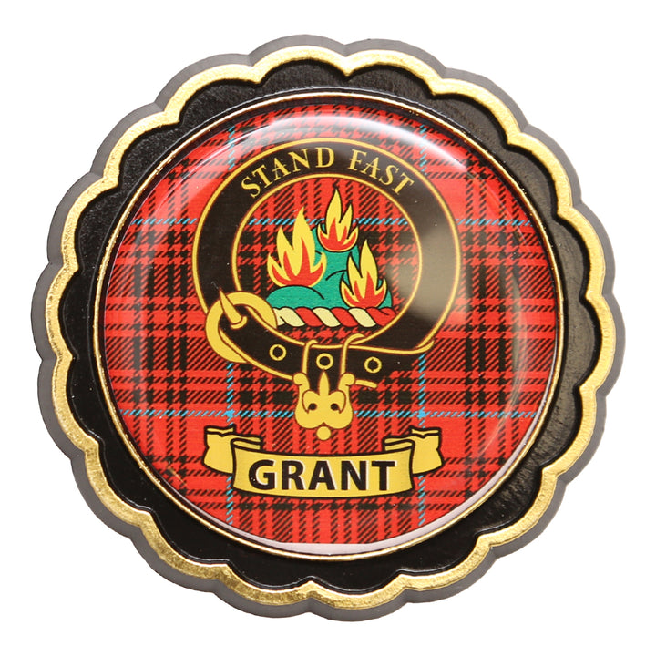 Clan Crest Fridge Magnet - Grant