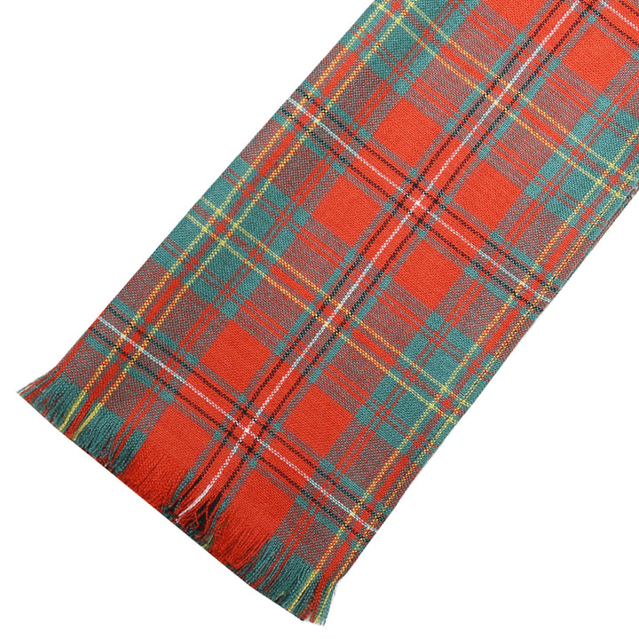 Fine Weight Tartan Scarf - Hay Ancient