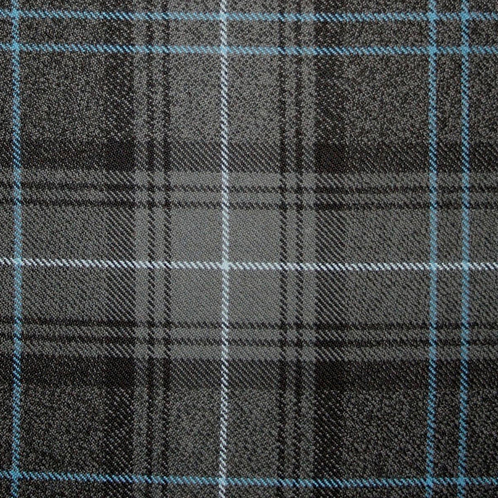 Highland Granite Blue Tartan