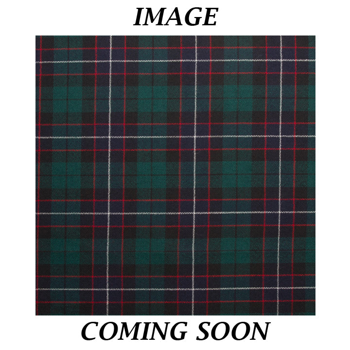 Fine Weight Tartan Scarf - Hunter Modern