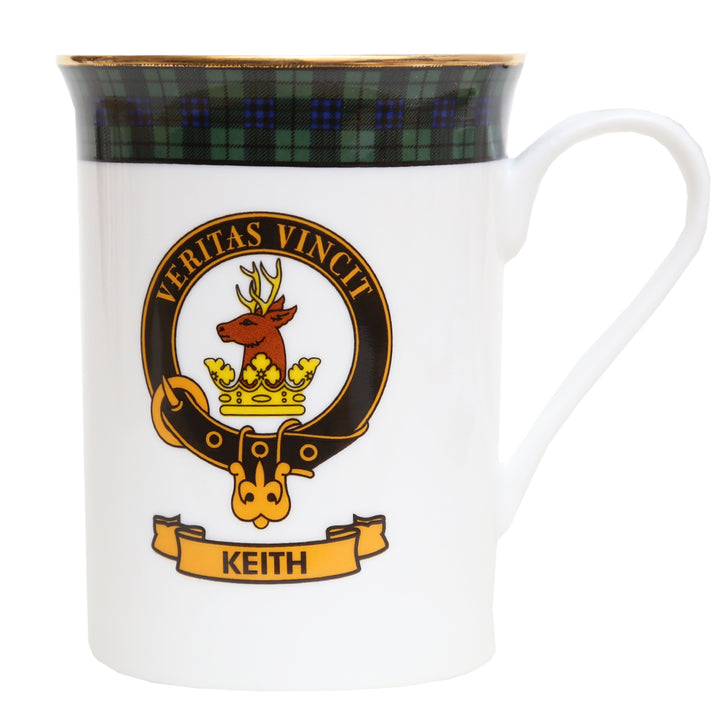 Clan Crest China Mug - Keith