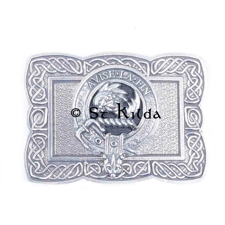 Clan Crest Belt Buckle - Kennedy