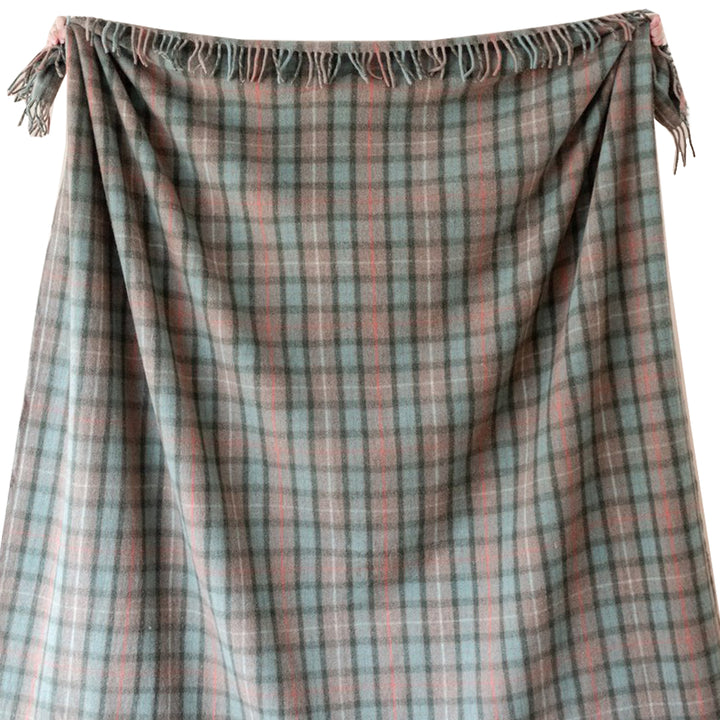 King Size Tartan Blanket - Fraser Hunting Weathered