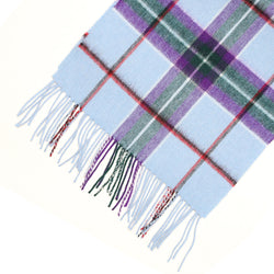 World Peace Lambswool Tartan Scarf