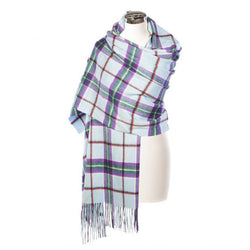 Lambswool Tartan Stole - World Peace