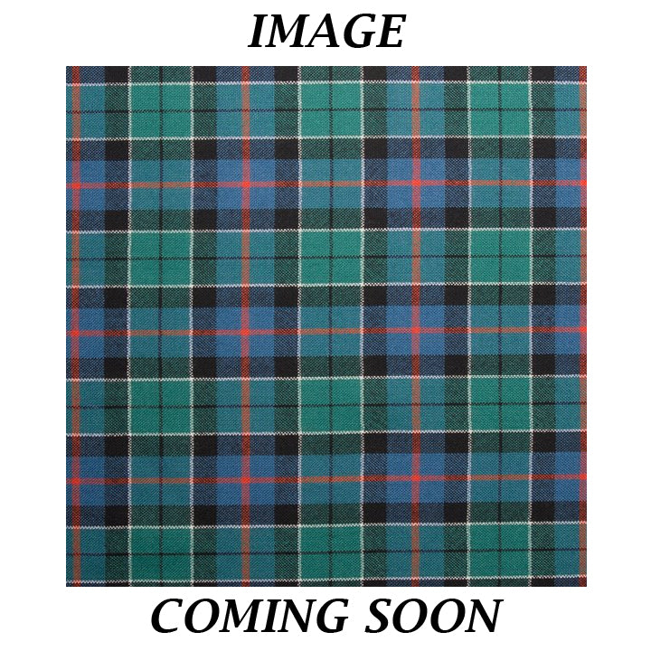 Fine Weight Tartan Scarf - Leslie Hunting Ancient
