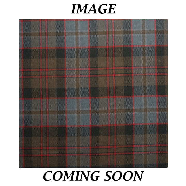 Fine Weight Tartan Scarf - Lochaber Weathered
