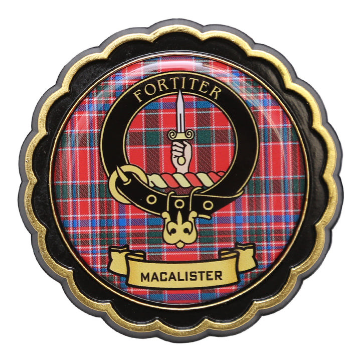 Clan Crest Fridge Magnet - MacAlister