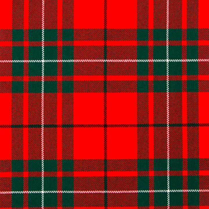 MacAuley Red Modern Tartan