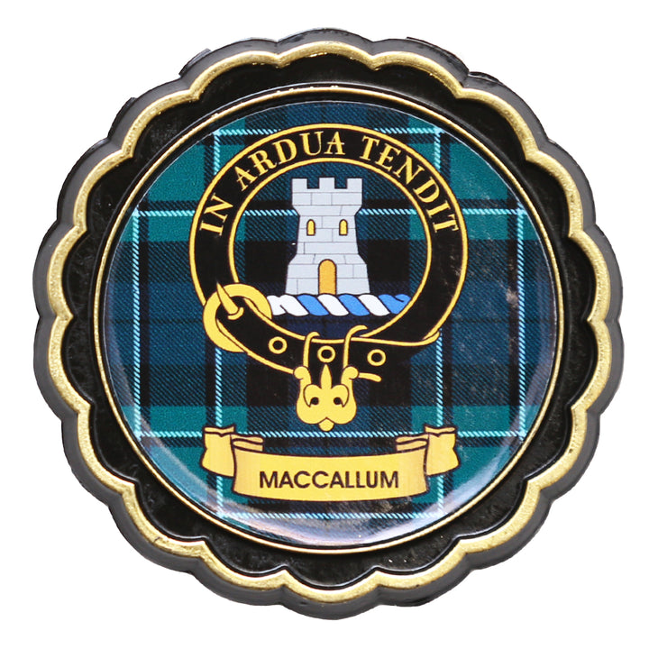 Clan Crest Fridge Magnet - MacCallum