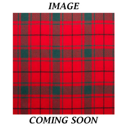 Fine Weight Tartan Scarf - MacDonald Lord of the Isles Red Modern
