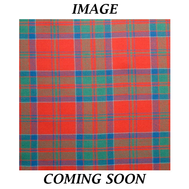 Fine Weight Tartan Scarf - MacDonell of Keppoch Ancient