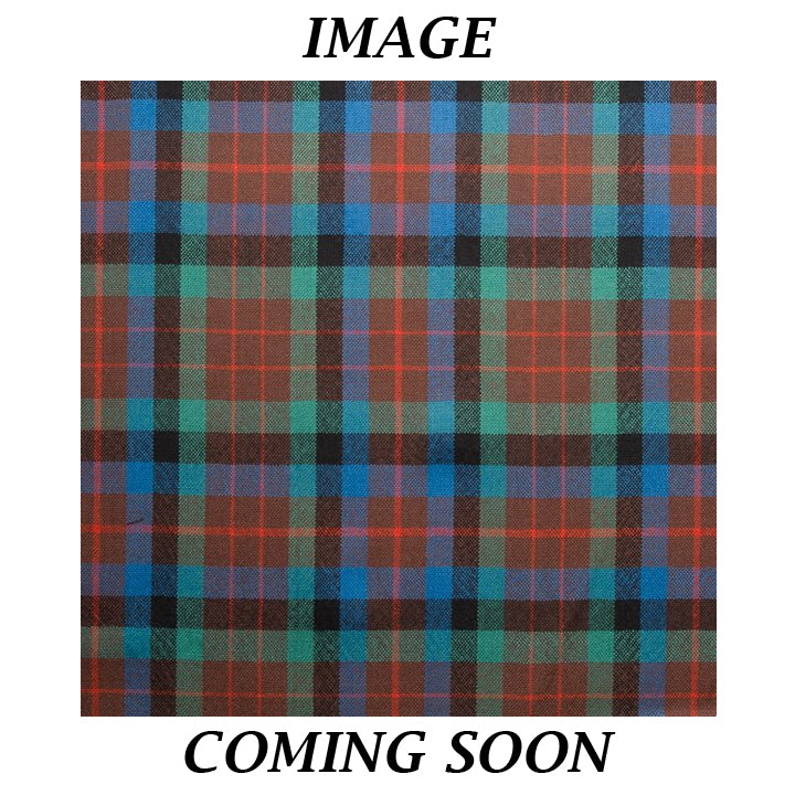 Fine Weight Tartan Scarf - MacDuff Hunting Ancient