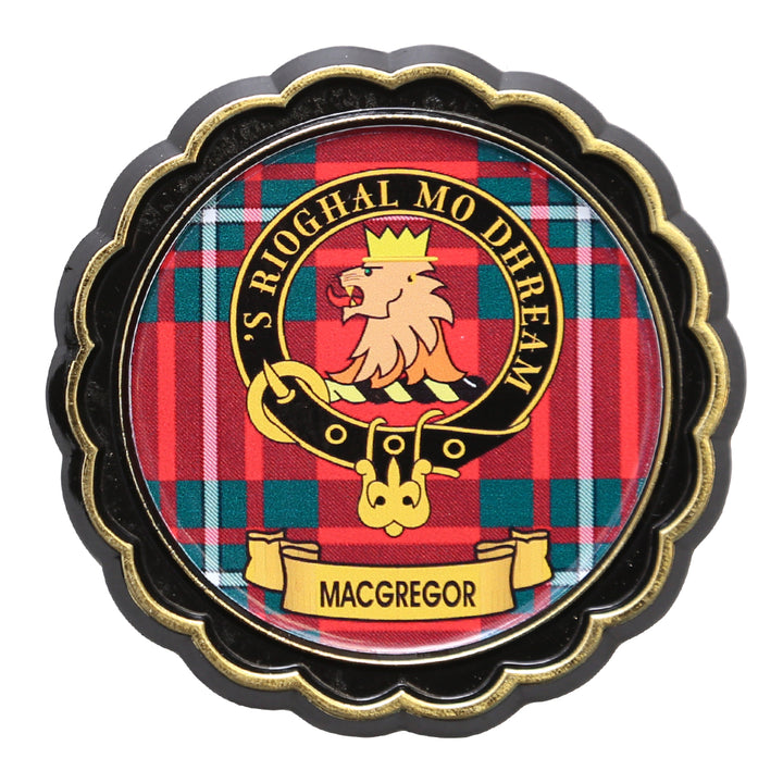 Clan Crest Fridge Magnet - MacGregor