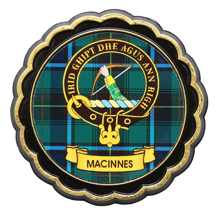 Clan Crest Fridge Magnet - MacInnes