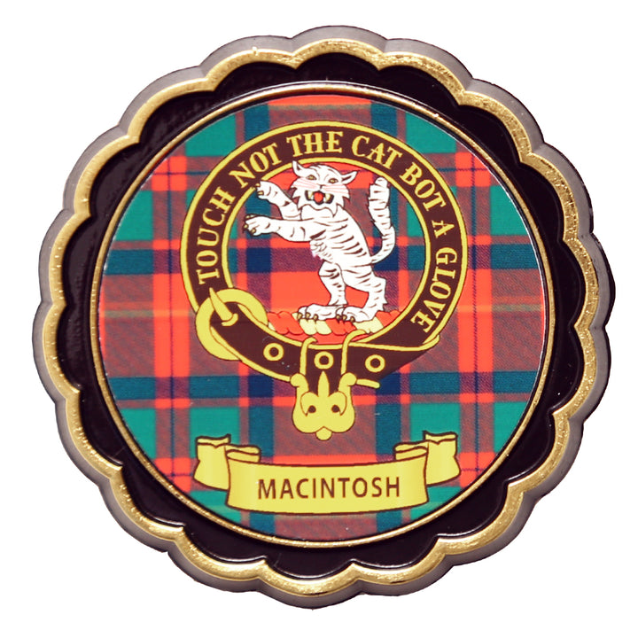 Clan Crest Fridge Magnet - MacIntosh