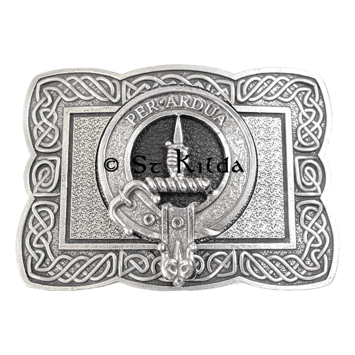 Clan Crest Belt Buckle - MacIntyre