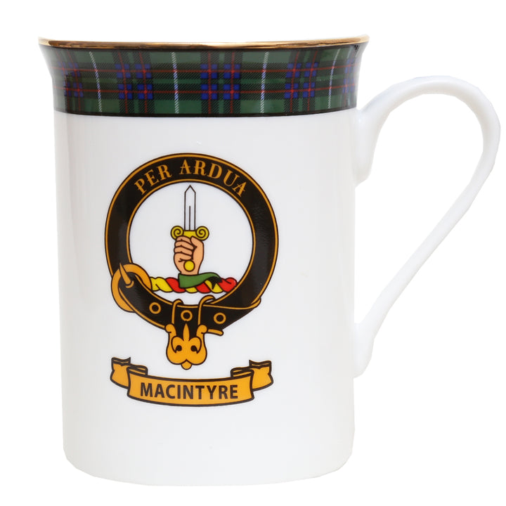 Clan Crest China Mug - MacIntyre