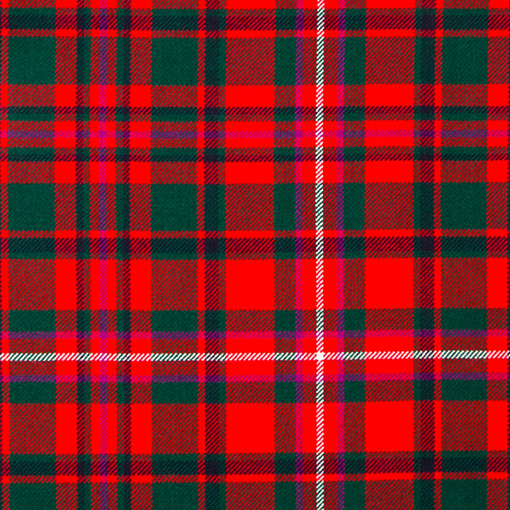 MacKinnon Red Modern Tartan