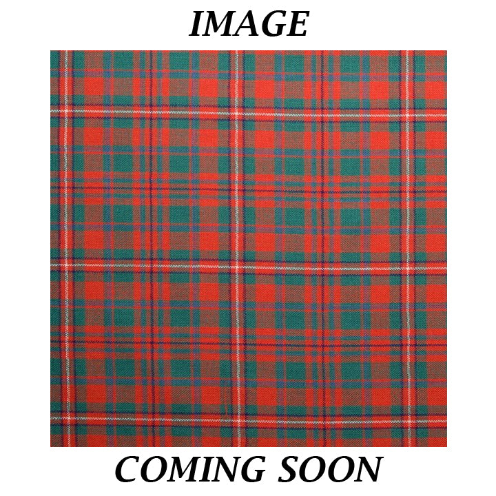 Fine Weight Tartan Scarf - MacKinnon Ancient