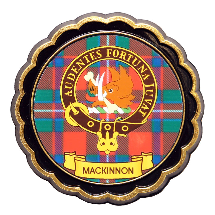 Clan Crest Fridge Magnet - MacKinnon