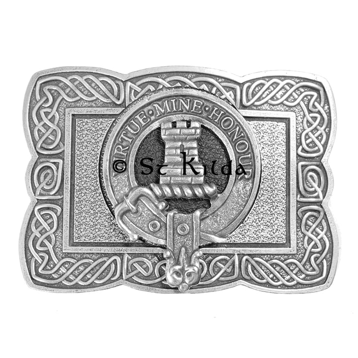 Clan Crest Belt Buckle - MacLean