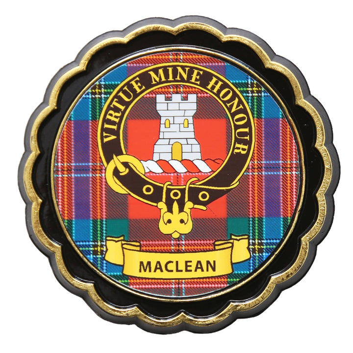 Clan Crest Fridge Magnet - MacLean