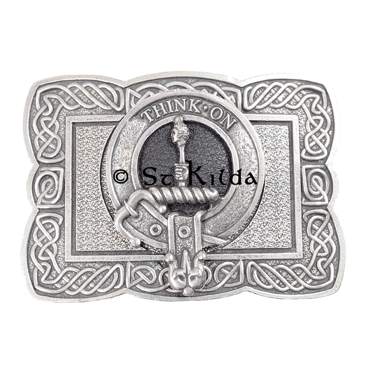 Clan Crest Belt Buckle - MacLellan