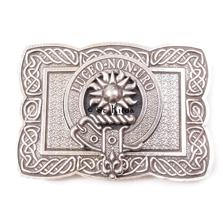 Clan Crest Belt Buckle - MacLeod of Raasay