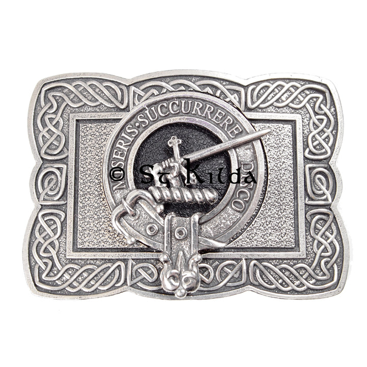 Clan Crest Belt Buckle - MacMillan