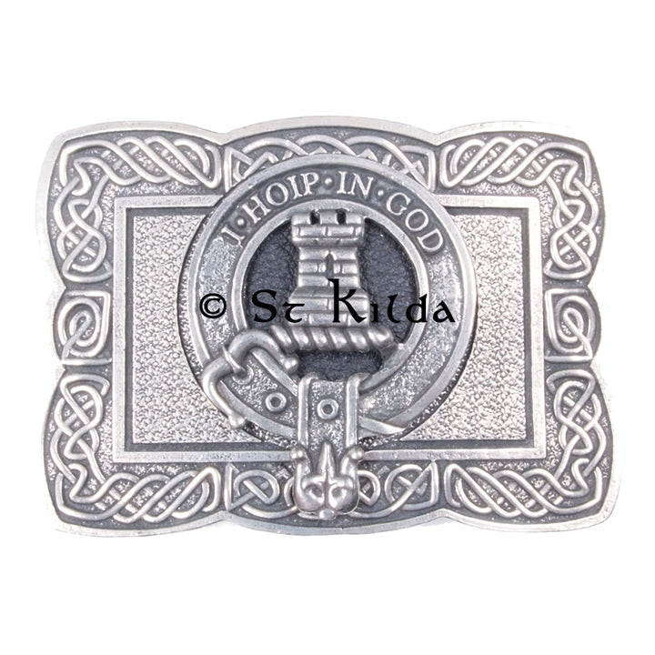 Clan Crest Belt Buckle - MacNaughton
