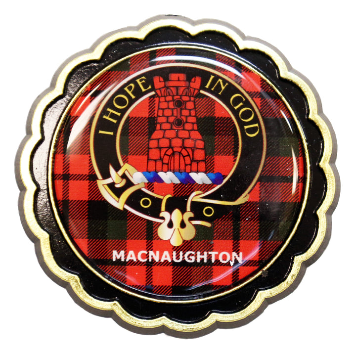 Clan Crest Fridge Magnet - MacNaughton