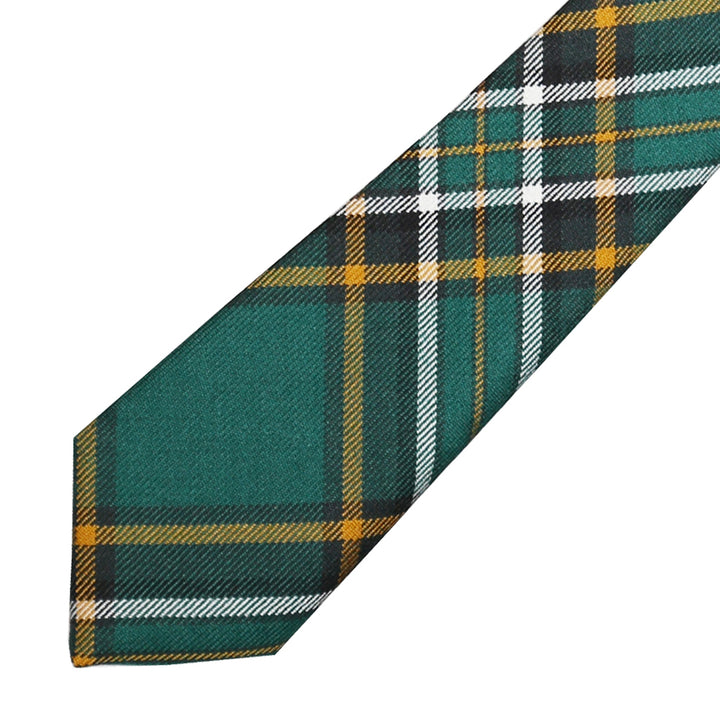 Men's Tartan Tie - Irish National