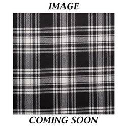 Tartan Sash - Menzies Black and White
