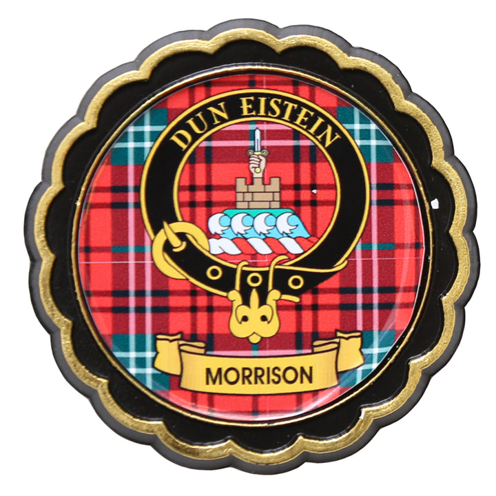 Clan Crest Fridge Magnet - Morrison