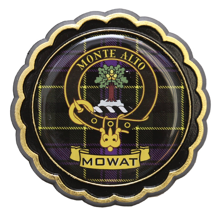 Clan Crest Fridge Magnet - Mowat