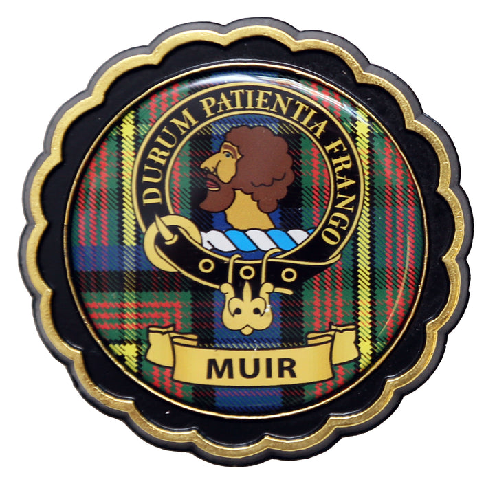 Clan Crest Fridge Magnet - Muir