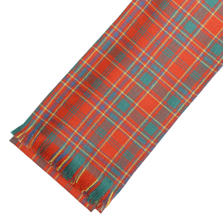 Fine Weight Tartan Scarf - Munro Ancient