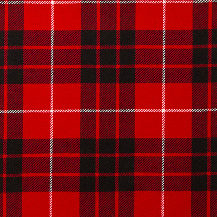 Munro Black and Red Modern Tartan