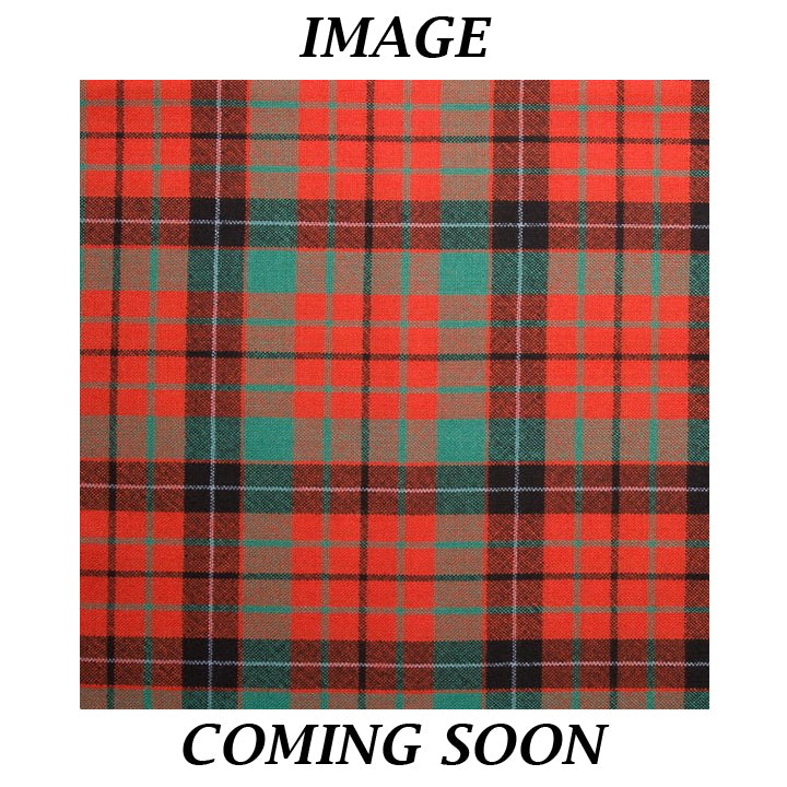 Fine Weight Tartan Scarf - Nicolson Ancient