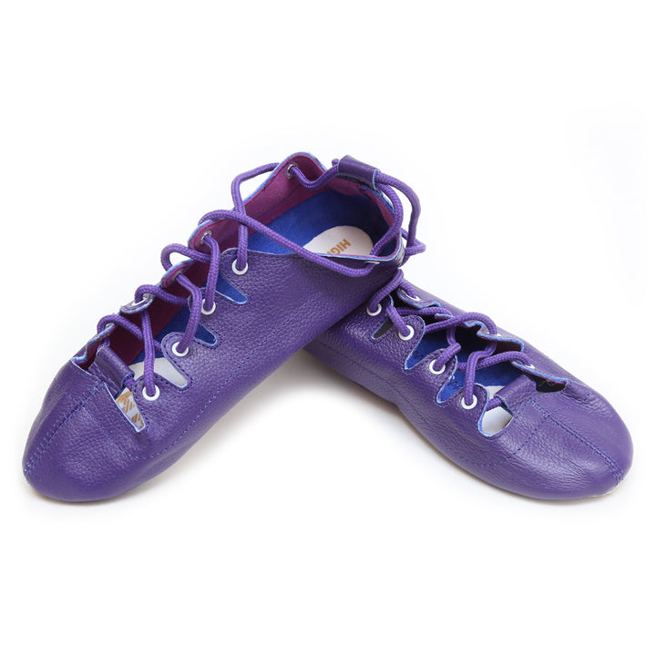 Purple Highlander Highland Dance Shoes